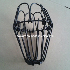 china metal wire lamp bird bulb cage lamp squirrel cage hanging light cage. Black Bedroom Furniture Sets. Home Design Ideas