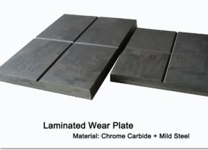 Laminated Wear Plate Wear Liners Bimetallic Chromium Carbide Wear Plates pictures & photos