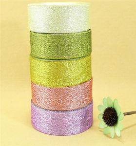 Wholesale Colorful Metallic Silver Organza Ribbon pictures & photos