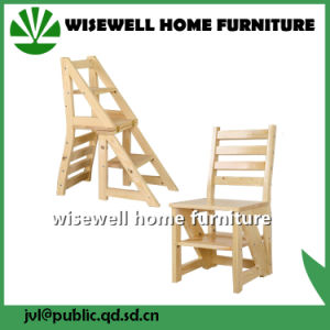 Pine Wood Convertible Ladder Chair pictures & photos