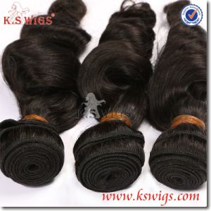 Super Quality Natural Raw Virgin Remy Indian Hair pictures & photos