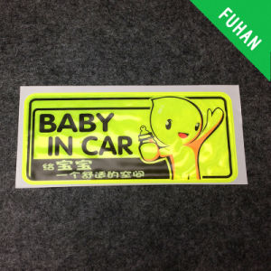 Good Quality Fluorescent Colours Sticker for Children Safety pictures & photos