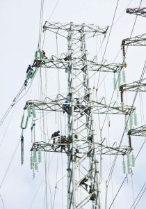500kv Double Circuit Transmission Tower pictures & photos