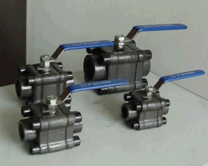 OEM A105 Forged Thread/Flange Floating/Turnnion Ball Valve pictures & photos