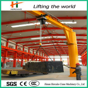 Free Standing 360 Degree Electric Wire Rope Hoist pictures & photos