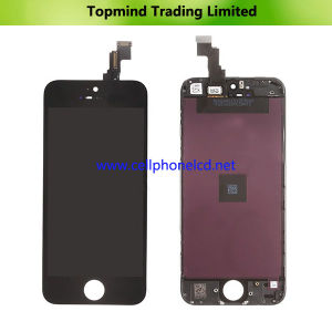 LCD for iPhone 5c with Touch Screen with Metal Frame pictures & photos