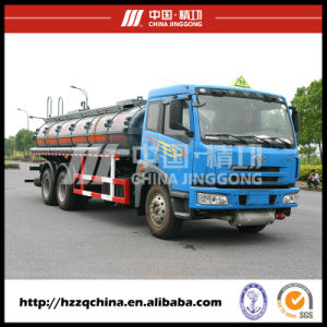 15000L Faw Plastic Tank Truck for Chemical Liquid Property Delivery pictures & photos