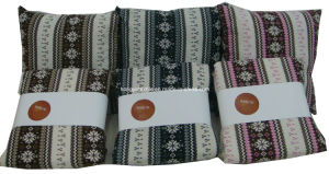 100% Cotton Ethnic Printed Super Soft Blanket, Reverse Quliting Sherpa Throw