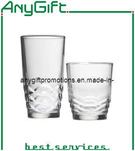 Christmas Glass Mug with Customized Logo pictures & photos