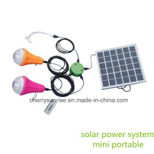 Global Sunrise New Solar Product Home Small Solar Lighting Kits for Africa pictures & photos