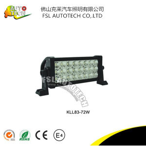 Hot Sale Best Quality 72W Auto Part Triplex Row LED Light Bar for Truck pictures & photos