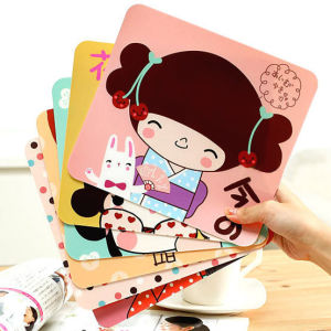 Computer Laptop Anti-Slip Cartoon Mousepad with Various Designs pictures & photos