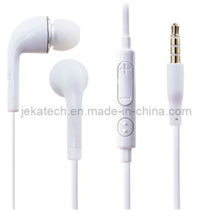 for Samsung Galaxy S5 Earphone with Mic Volume Control pictures & photos