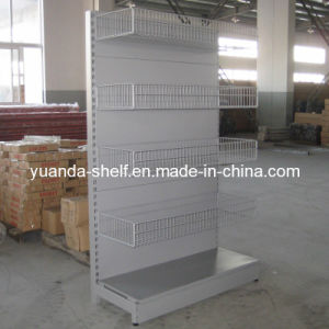 Supermarket Wire Mesh Hanging Goods Display Shelf pictures & photos