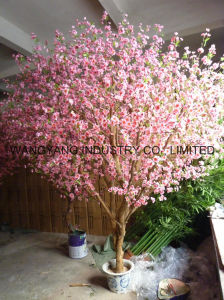 Artificial Fake Synthetic Peach Blossom Tree pictures & photos