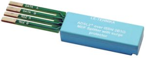 ADSL2+ Over Isdn Splitter Module for Corning MDF Clsi-018j6 pictures & photos