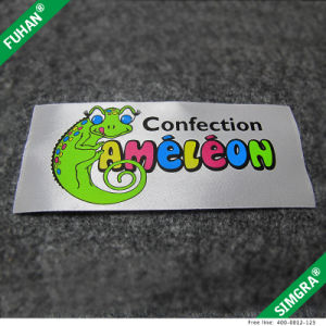 Wholesale Good Quality Colorful Label in Transfer Print pictures & photos