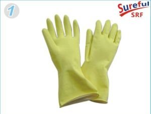 Latex Household Gloves (Hot Sale in Brazil) (2014SFLG013) pictures & photos