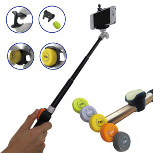 Little Aluminum Bluetooth Selfie Stick Remote Shutter with Smartphone pictures & photos
