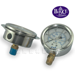 Standard Shake Resistant Pressure Gauge pictures & photos