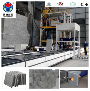 Tianyi Fireproof Thermal Insulation Wall Machine Foam Concrete Brick pictures & photos