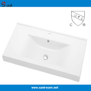 USA Marker Hot Selling Bathroom Cabinet Basin with Upc (SN1538-80) pictures & photos