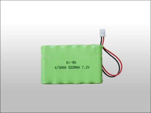 Super 4/5AAA 7.2V 500mAh Ni-MH Battery pictures & photos