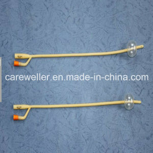 Silicone Coated Latex Foley Catheter pictures & photos