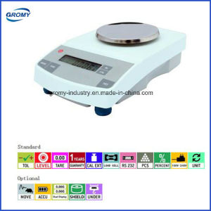 0.01g Digital Sensitive Balance Analytical Balance with Good Quality pictures & photos