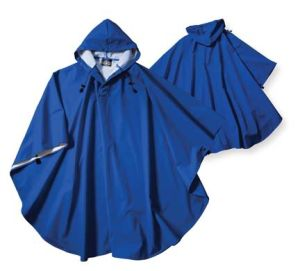 Hooded Waterproof Rain Cape Mens Womens Rain Poncho pictures & photos