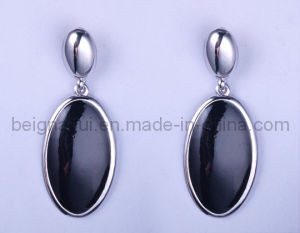 Fashion Earring with Ellipse Jewelry