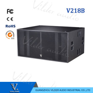 V218b Big Box Double 18′′ Woofer Professional Speaker Outdoor Subwoofer pictures & photos