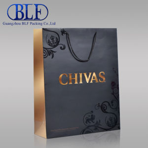 Luxury Brown with UV Paper Bag pictures & photos