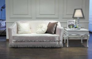 White Elegant Fabric Sofa of Loveseat pictures & photos