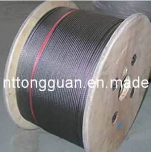 Elevator Wire Rope (8*19S+NF) with Certification ISO9001: 2008 pictures & photos
