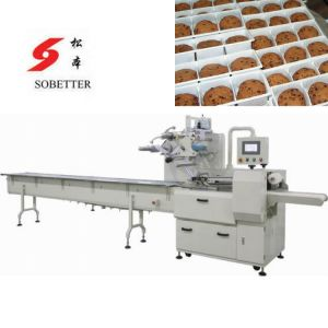 Auto Biscuit Packaging Machine with Feeder pictures & photos