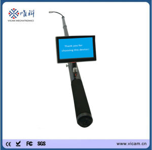 CCTV Systems Handheld Telescopic Pole Wall and Chimney Inspection Camera pictures & photos