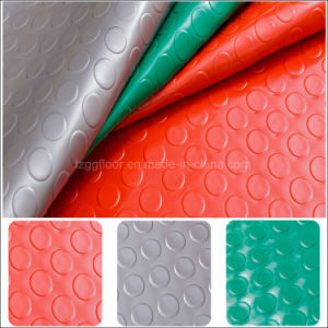 Hot Selling Cheap Price Waterproof PVC Flooring Coined pictures & photos