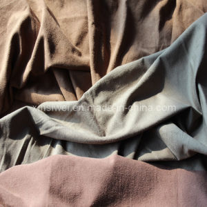 Knitted Suede Spandex Fabric (SL821) pictures & photos