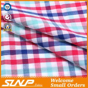 New Design Plaid Fabric for Dress and Shirt