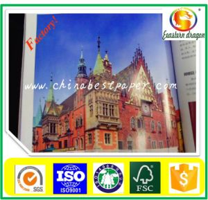 Semi-Glossy 56g Light Weight Coated Paper pictures & photos
