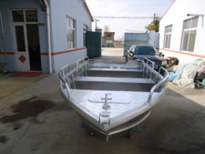 Working Boat for Aluminum Alloy Material in Big Sea pictures & photos