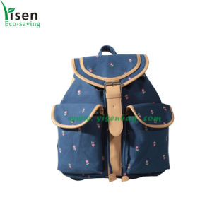 Special Canvas Backpack Bag, School Bags (YSBP03-0103) pictures & photos