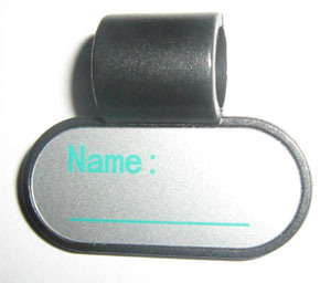 Medical Equipment I. D. Tag Stethoscope Name Tag (SW-G02S) pictures & photos