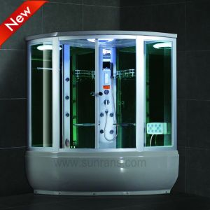 Multi-Functional Foot Massage Steam Shower Room with Bathtub (SR608) pictures & photos
