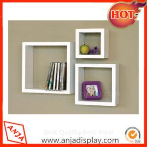 MDF Furniture Colourful Cube Wall Shelf
