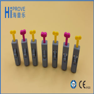 Disposable Sterile Medical Safe Blood Lancet pictures & photos