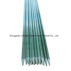 Pultrusion High Strength Light Weight FRP Fiberglass Stake, Fibreglass Pole pictures & photos