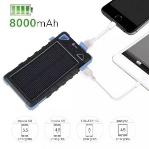 Factory Original Solar Mobile Phone Power Bank Charger pictures & photos