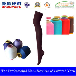 Spandex Covered Yarn with Polyester for Stocking pictures & photos